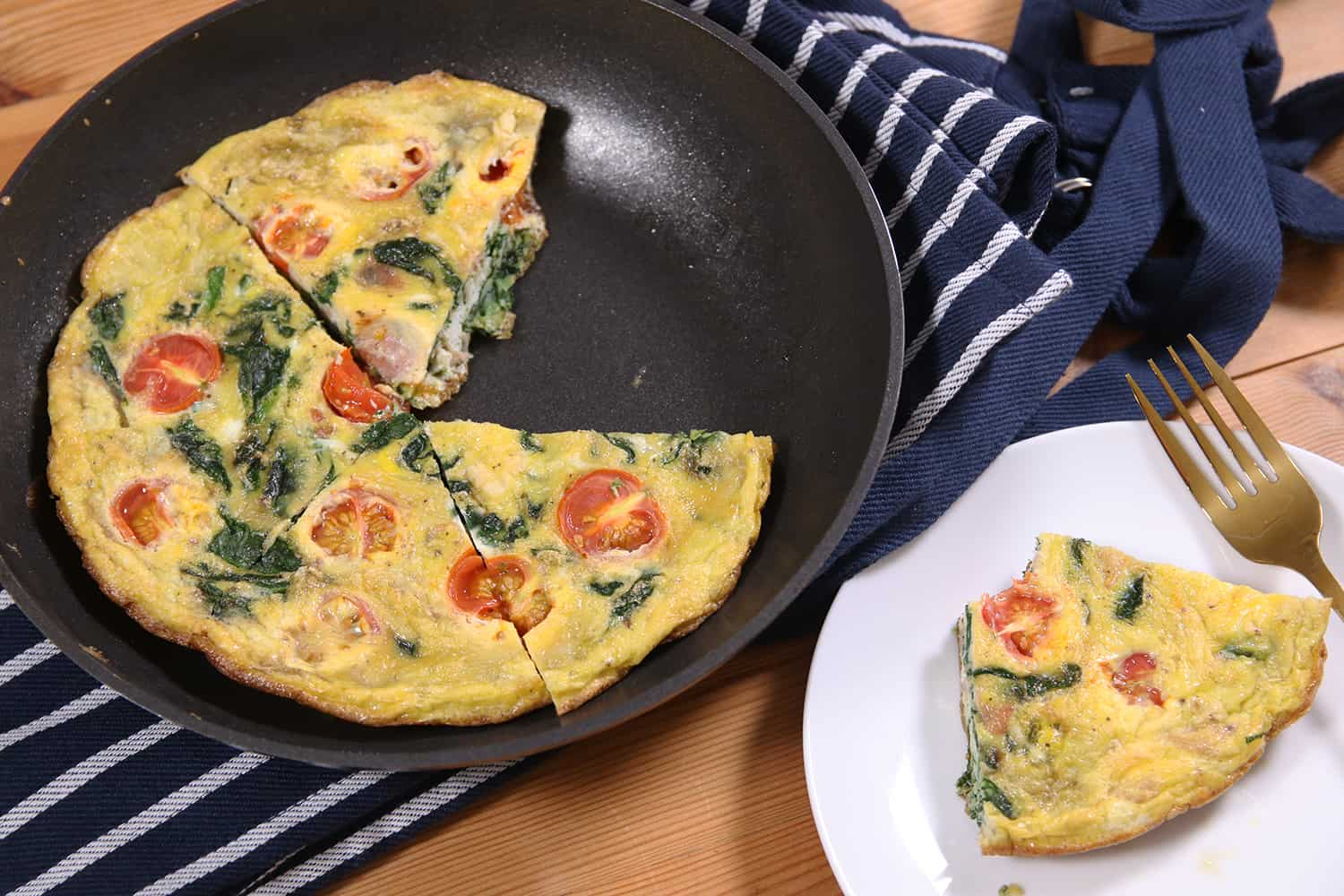 Meal Prep Breakfast Frittata Recipe (low FODMAP & dairy free)