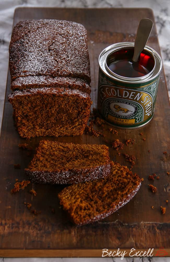 My Gluten Free Jamaican Ginger Loaf Cake Recipe (dairy free)