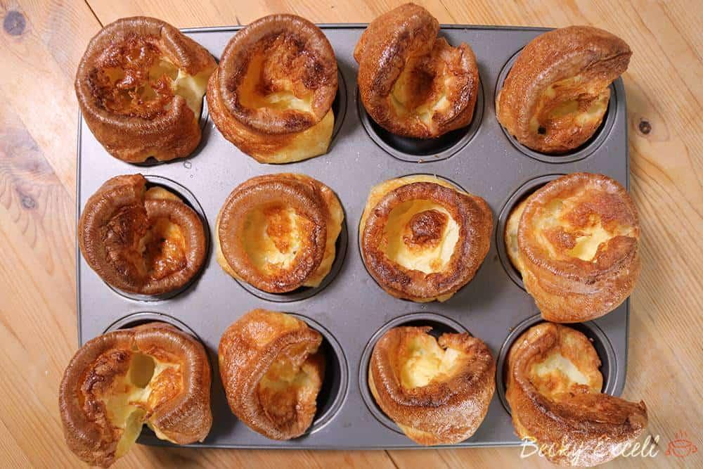 Gluten Free Yorkshire Pudding Recipe (dairy free & low FODMAP)