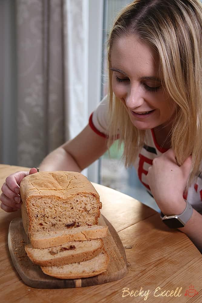 Fresh gluten free bread?! Introducing The Panasonic Breadmaker SD-ZX2522