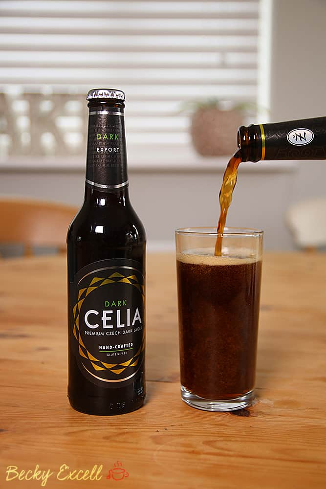 My go-to gluten free beer: Celia Organic and Celia Dark