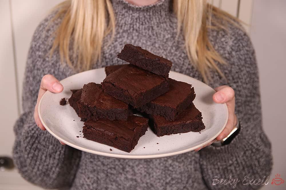 Gluten Free Chocolate Brownie Recipe (dairy free & low FODMAP)