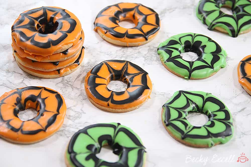 Gluten Free Halloween Party Rings Recipe (dairy free and low FODMAP)