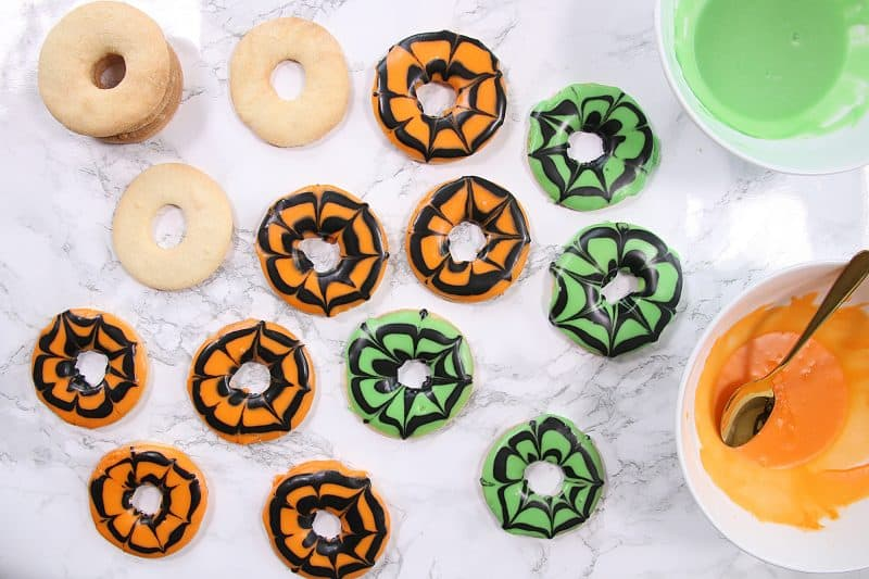 My Spooky Gluten Free Halloween Party Rings Recipe (dairy free and low FODMAP)