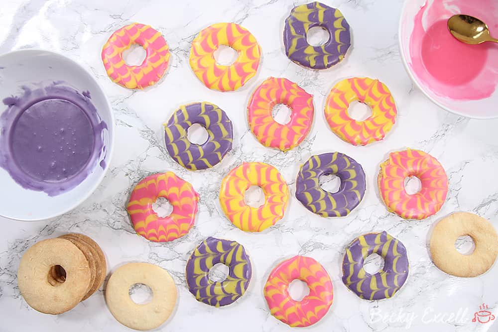 Gluten Free Party Rings Recipe (dairy free and low FODMAP)