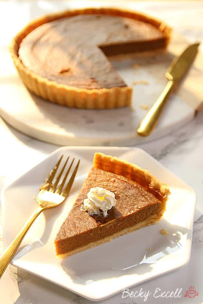 My Gluten Free Pumpkin Pie Recipe (dairy free and low FODMAP)