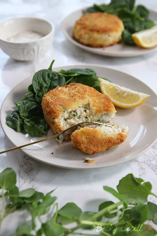 Gluten Free Smoked Haddock Fishcakes Recipe (dairy free & low FODMAP)