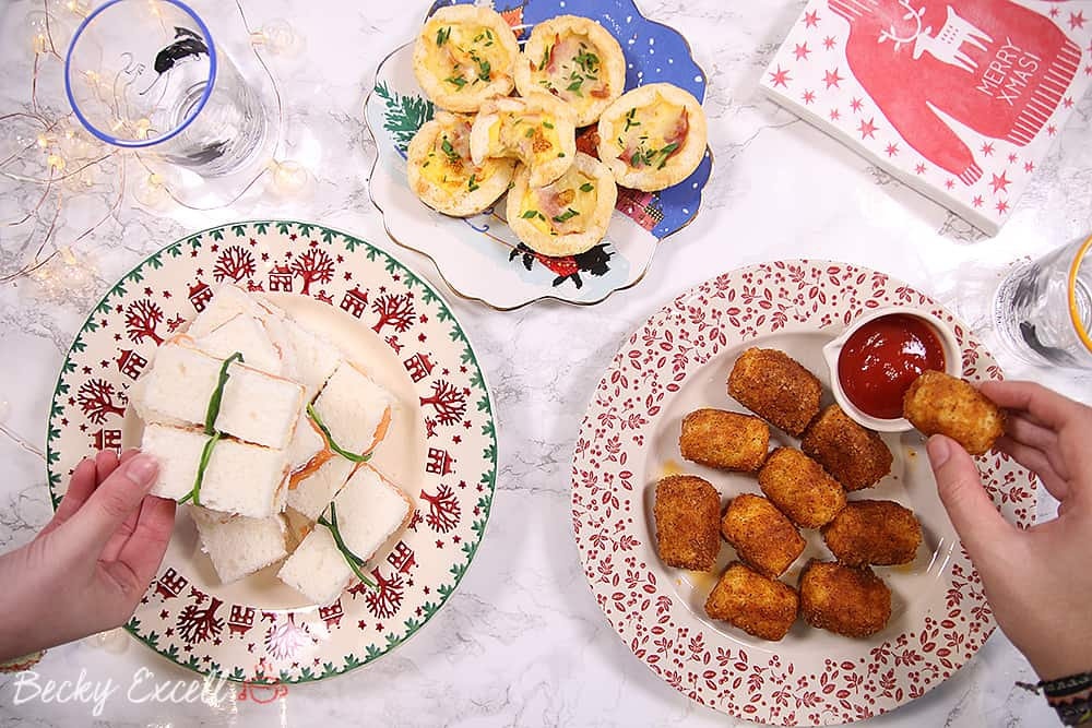 3 gluten free party food ideas for your Christmas buffet