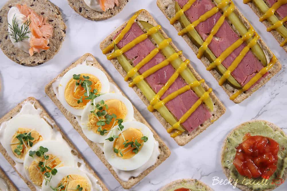 4 fancy yet simple gluten free canap ideas dairy free for Canape toppings ideas