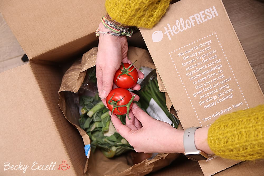 5 reasons I love my HelloFresh recipe box