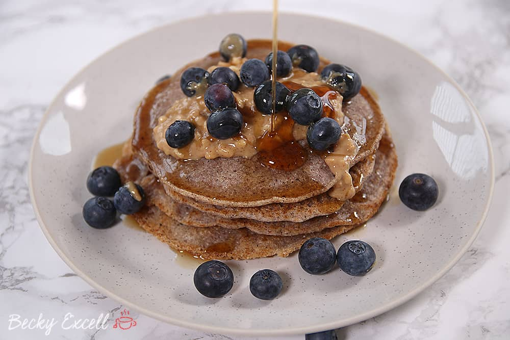My gluten free and vegan buckwheat pancakes recipe low fodmap but trust me it works great with sweet or savory toppings and its a welcome change from regular pancakes ccuart Gallery