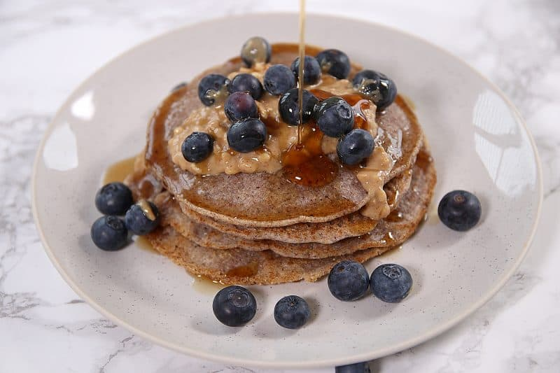 My Gluten Free and Vegan Buckwheat Pancakes Recipe (low FODMAP, dairy free)