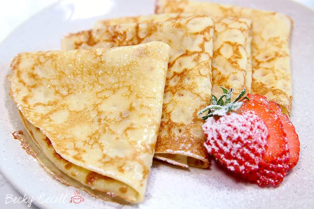 Gluten Free Pancakes Recipe (dairy free and low FODMAP)