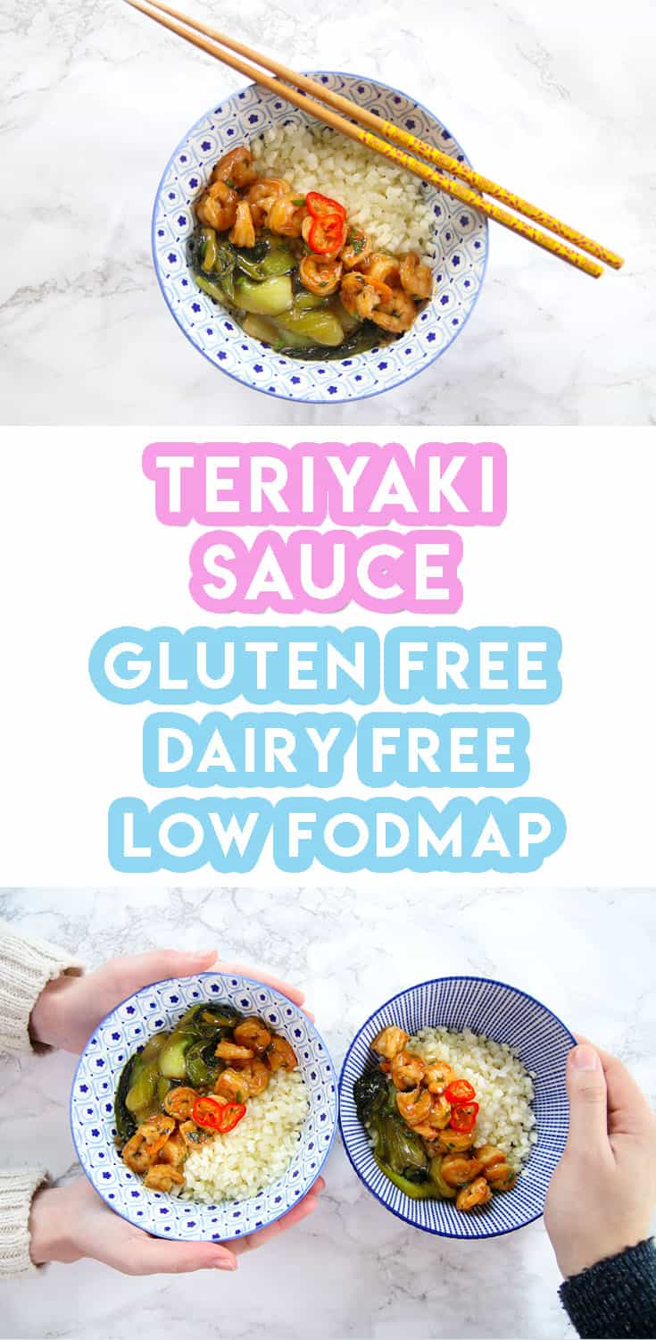 My Sweet + Sticky Gluten Free Teriyaki Sauce Recipe (low FODMAP)