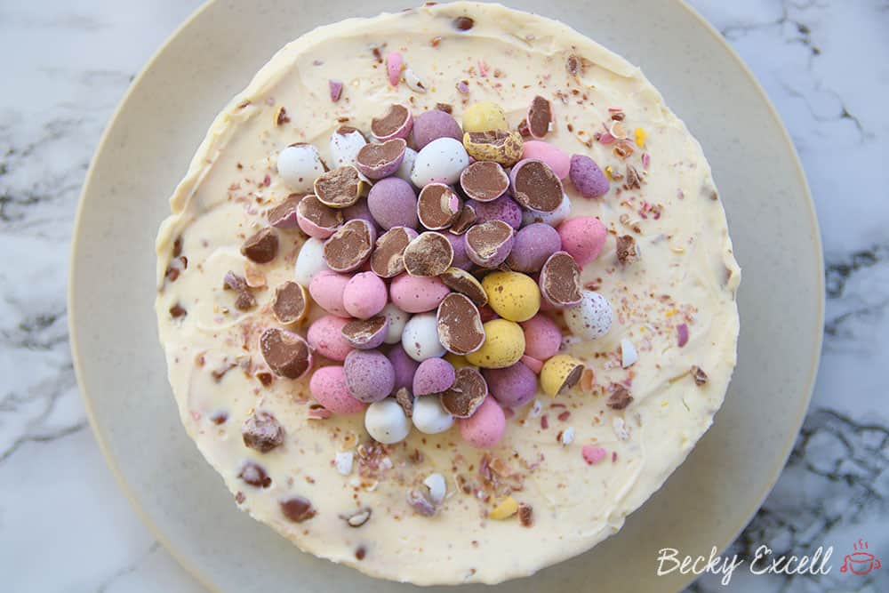 My 'Eggstravagant' Gluten Free Mini Egg Cheesecake Recipe