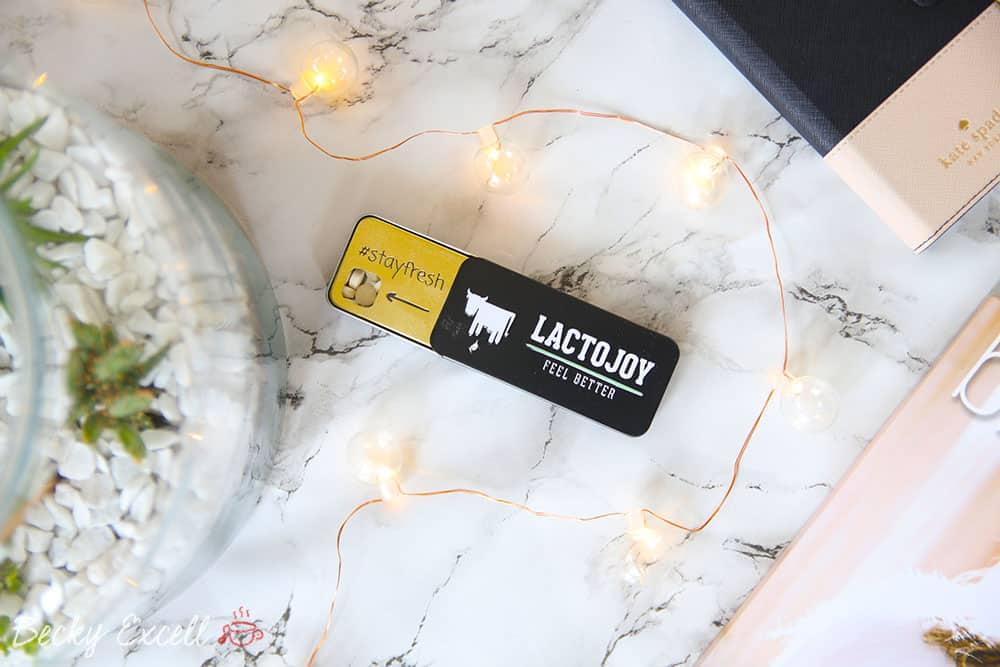 5 reasons we always carry LactoJoy lactase tablets