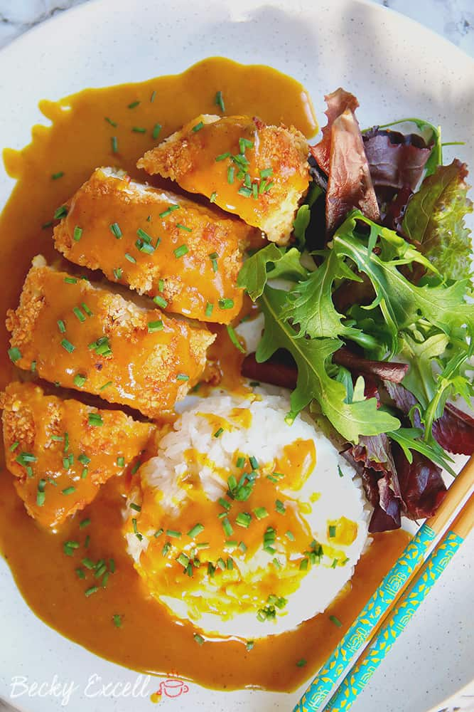 My Gluten Free Katsu Curry Recipe (low FODMAP, dairy free)