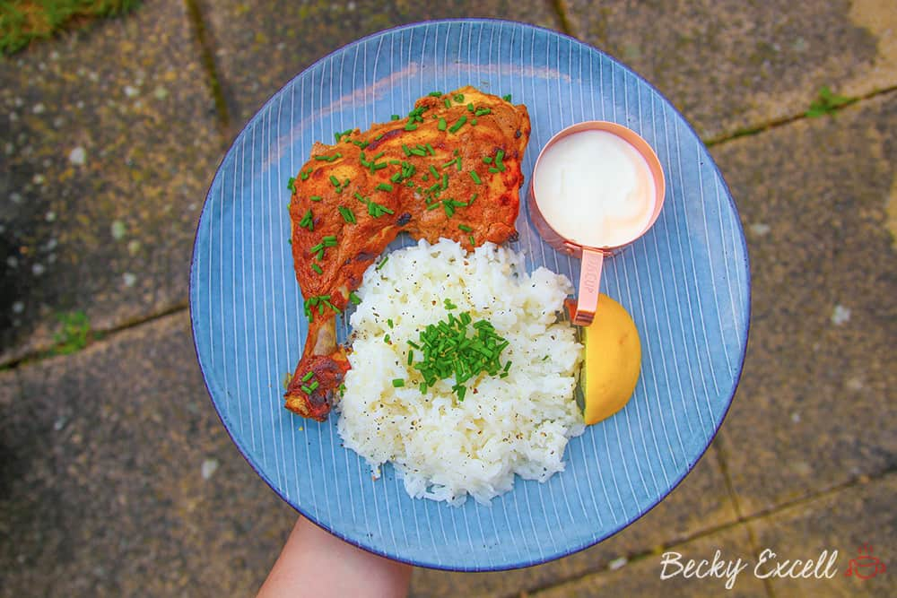 My Gluten Free Tandoori Chicken Recipe (low FODMAP)