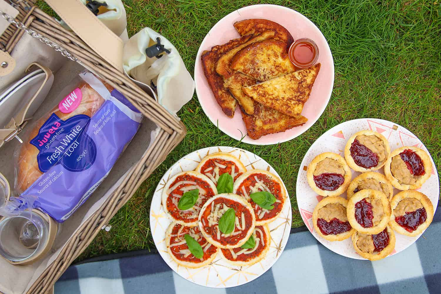 3 Easy-Peasy Gluten Free Picnic Recipes