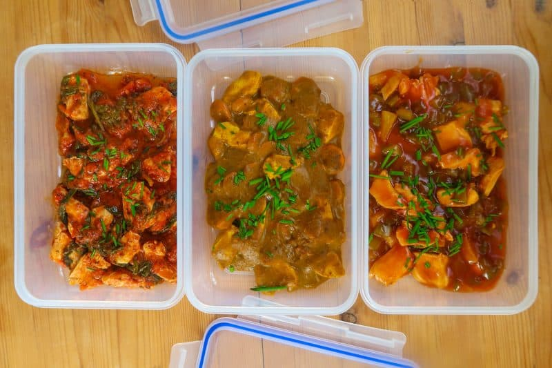 3 Homemade Ready Meal Recipes for Weekly Meal Prep (gluten free, low FODMAP)