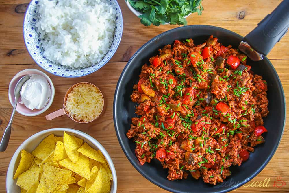 Gluten Free Chilli Con Carne Recipe (dairy free, low FODMAP)