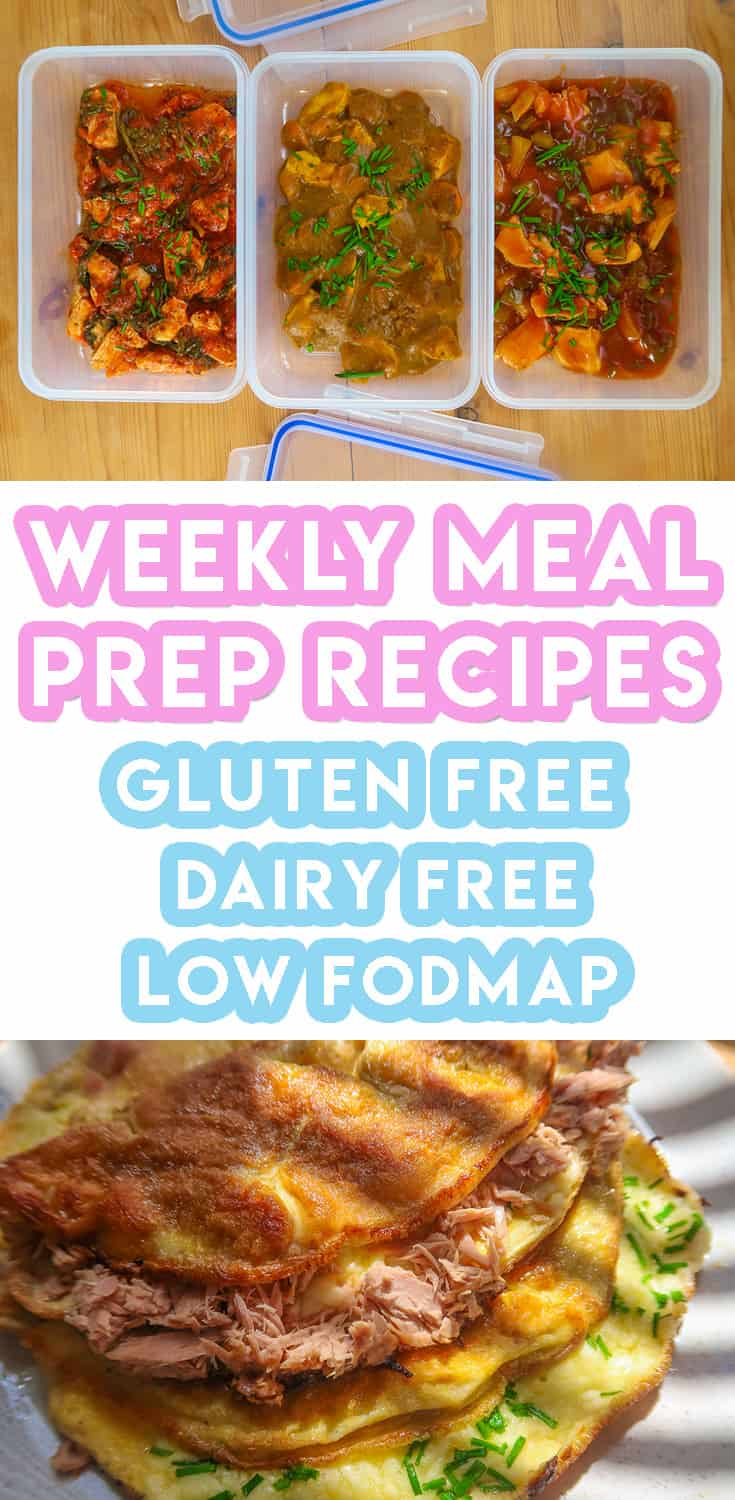Weekly Meal Prep Recipes #2: Gluten Free, Low FODMAP