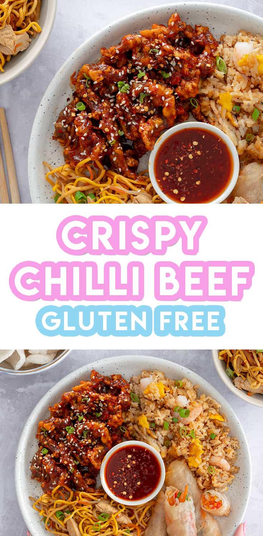 Mark's Gluten Free Crispy Chilli Beef Recipe (low FODMAP option, dairy free)