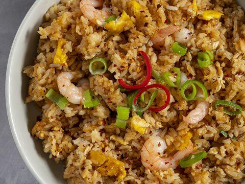 Gluten Free Special Fried Rice Recipe Low Fodmap Dairy Free