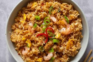Mark's 'Takeaway-style' Gluten Free Special Fried Rice Recipe (low FODMAP, dairy free)