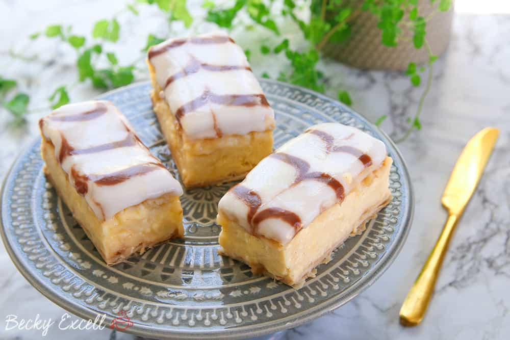 gluten free custard slice recipe