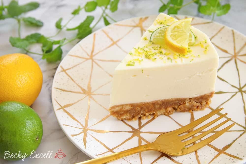 My Gluten Free Gin and Tonic Cheesecake Recipe (No-Bake)