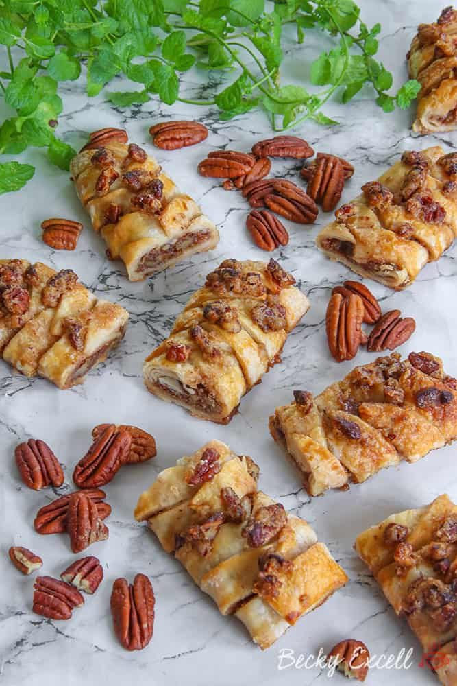 My Gluten Free Maple Pecan Plait Danish Recipe (dairy free)