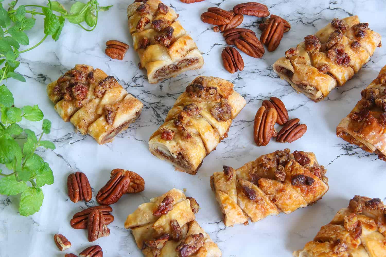 My Gluten Free Maple Pecan Plait Danish Recipe Dairy Free