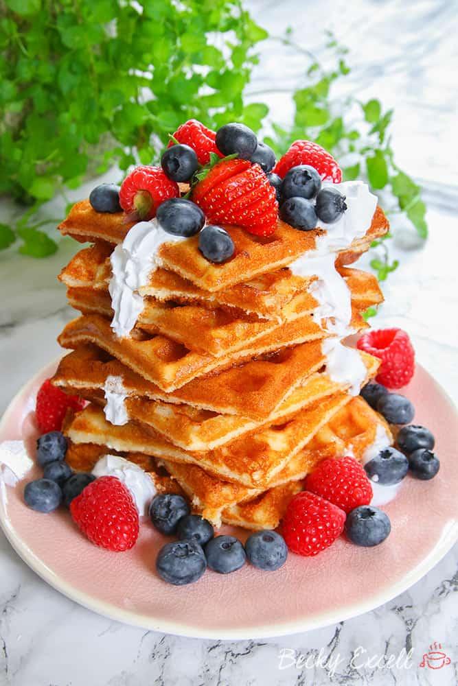 4 ingredient gluten free waffle recipe