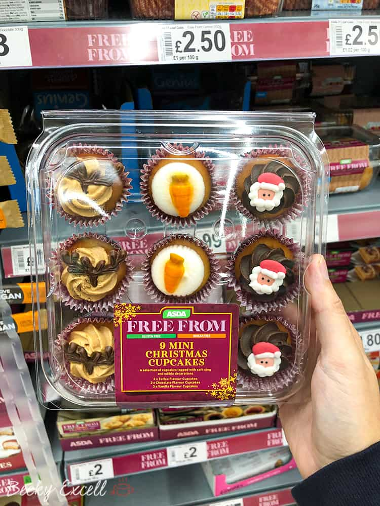 23 NEW products in the Asda Gluten Free Christmas Range 2019