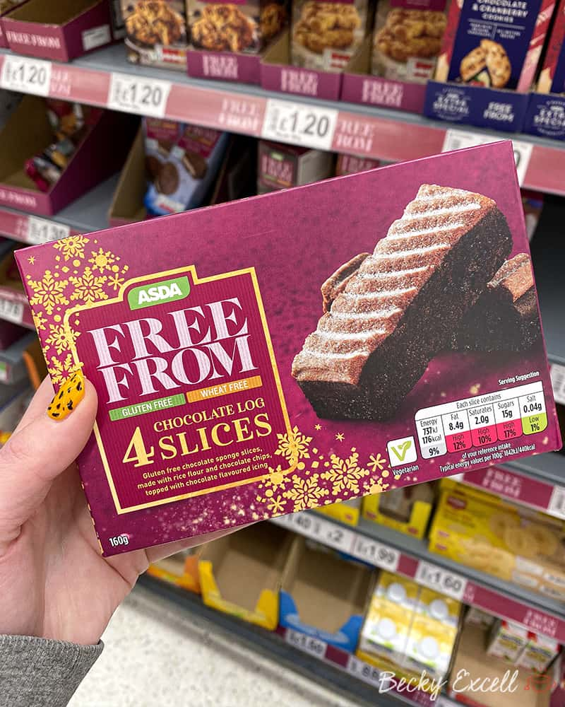 40 New Products In The Asda Gluten Free Christmas Range 2019