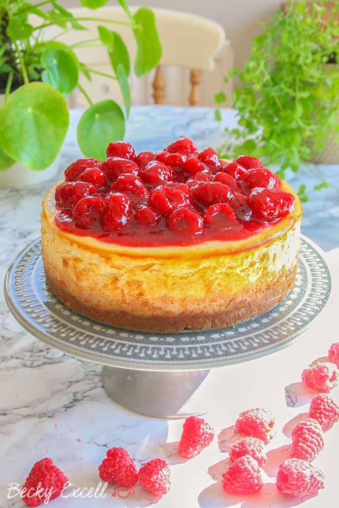 My Gluten Free Baked New York Cheesecake Recipe
