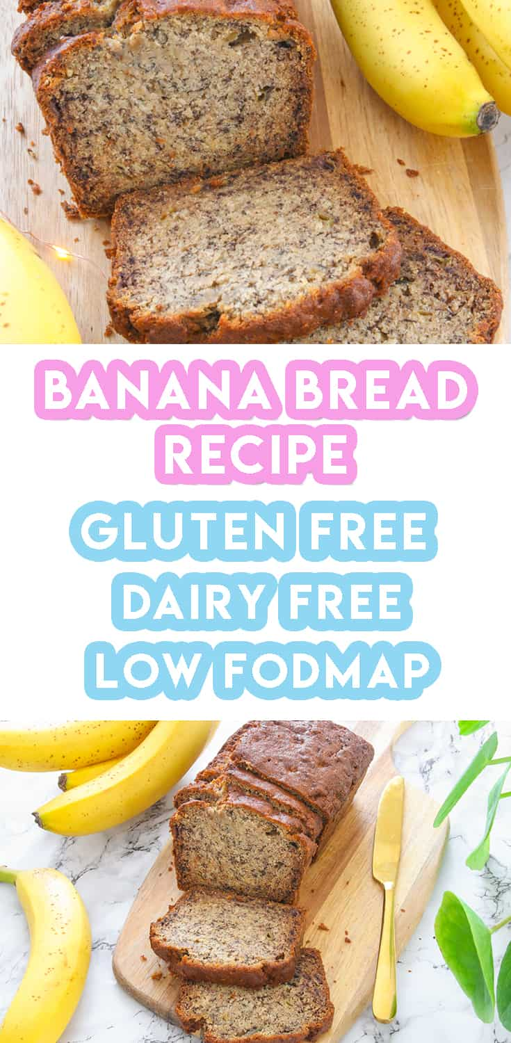 My 6-Ingredient Gluten Free Banana Bread Recipe (dairy free)
