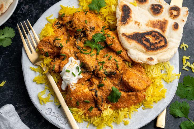 Gluten-free Coconut Chicken Curry Recipe (low FODMAP + dairy free)