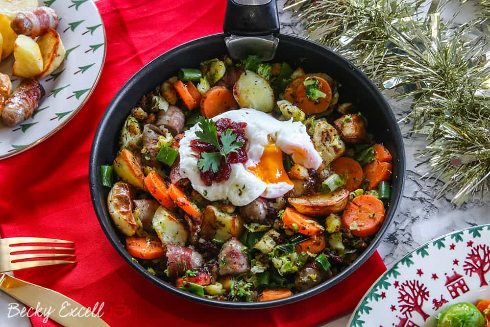 gluten free festive bubble and squeak