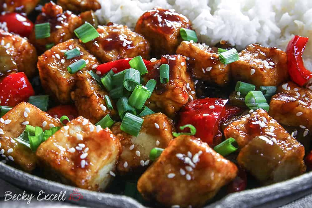 My Gluten Free Teriyaki Tofu Recipe (vegan + low FODMAP)