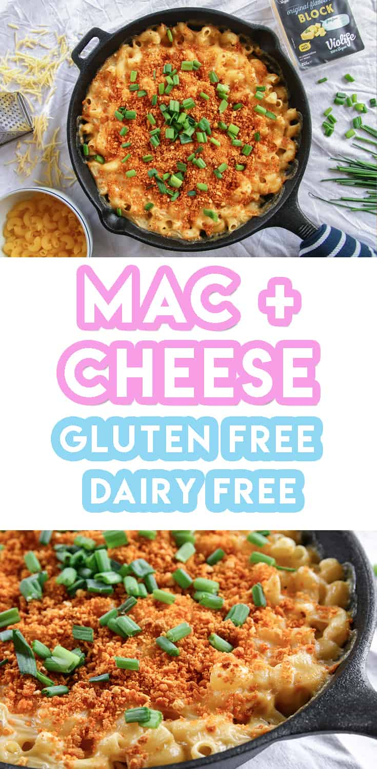 Gluten Free and Vegan Mac and Cheese Recipe (dairy free + nut free)