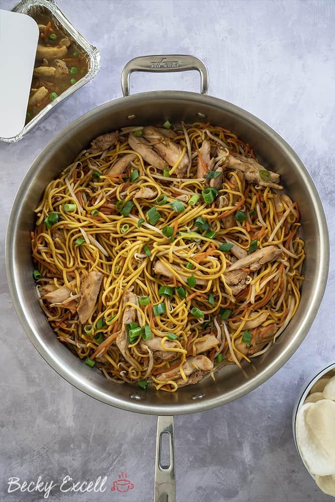 Gluten Free Chicken Chow Mein Recipe Takeaway Style