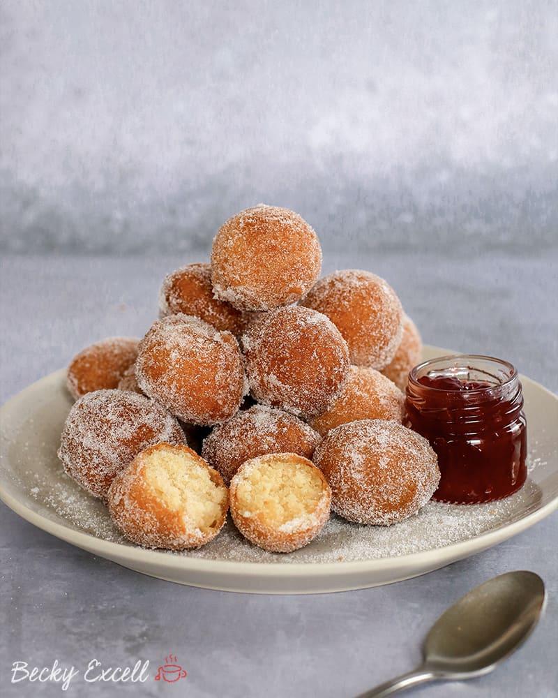 Gluten Free Doughnuts Recipe (dairy free, low FODMAP)
