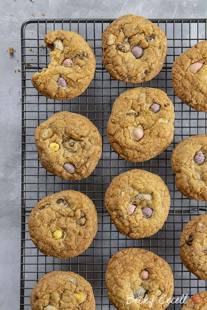 Gluten free Mini Egg Cookies