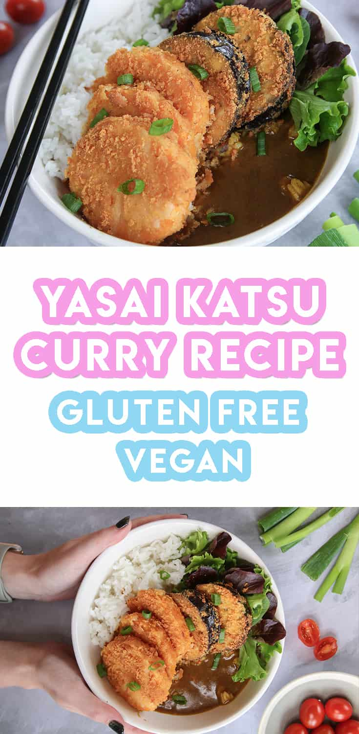 Gluten Free Vegan Katsu Curry Recipe (low FODMAP, dairy free)