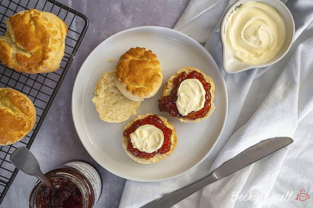 My Gluten Free Scones Recipe (vegan option and low FODMAP)