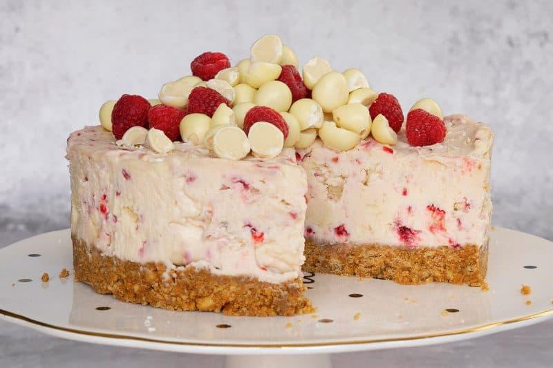 My 'Egg-ceptional' Gluten Free Milkybar Mini Egg and Raspberry Cheesecake Recipe (No-Bake)