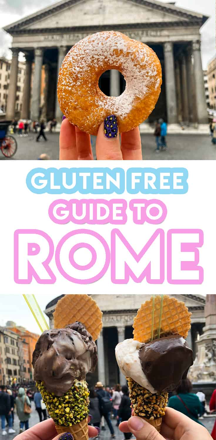 30 of the BEST places for gluten free in Rome 2019