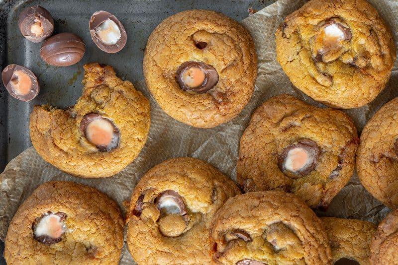 My Gluten Free Creme Egg Cookies Recipe